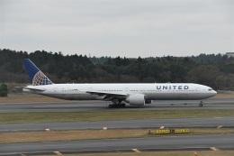 エルさんが、成田国際空港で撮影したユナイテッド航空 777-322/ERの航空フォト(飛行機 写真・画像)