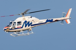 T spotterさんが、名古屋飛行場で撮影した中日本航空 AS355F2 Ecureuil 2の航空フォト(飛行機 写真・画像)