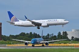 ポン太さんが、成田国際空港で撮影したユナイテッド航空 737-824の航空フォト(飛行機 写真・画像)