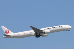 天王寺王子さんが、羽田空港で撮影した日本航空 777-346/ERの航空フォト(飛行機 写真・画像)