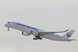 天王寺王子さんが、羽田空港で撮影した日本航空 A350-941の航空フォト(飛行機 写真・画像)