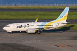 kuraykiさんが、羽田空港で撮影したAIR DO 737-781の航空フォト(飛行機 写真・画像)