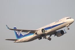 天王寺王子さんが、羽田空港で撮影した全日空 A321-272Nの航空フォト(飛行機 写真・画像)