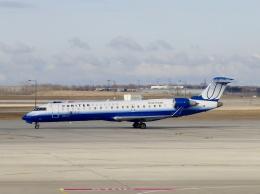 TA27さんが、オヘア国際空港で撮影したスカイウエスト CL-600-2C10(CRJ-700)の航空フォト(飛行機 写真・画像)