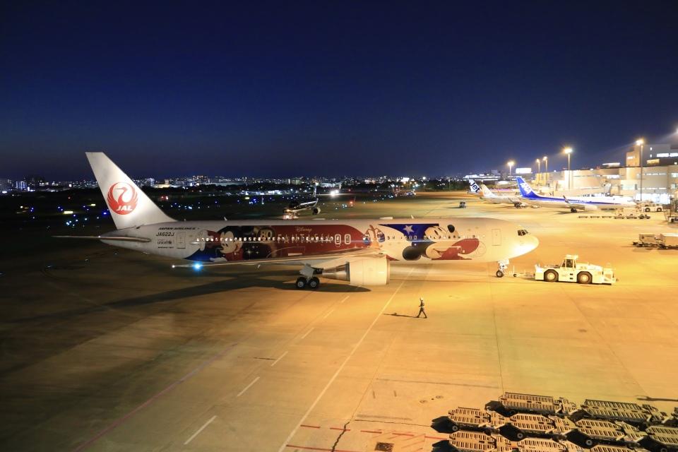 aki241012さんの日本航空 Boeing 767-300 (JA622J) 航空フォト