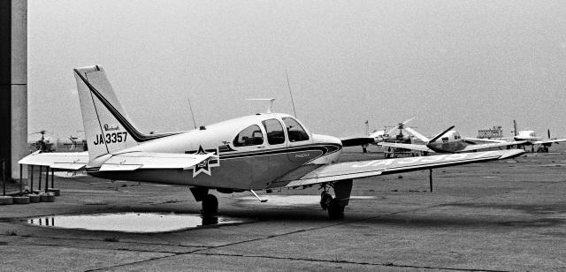 Y.Todaさんが、羽田空港で撮影した毎日新聞社 C33A Debonair  (35-C33A)の航空フォト(飛行機 写真・画像)