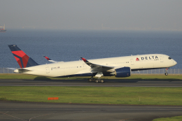 Sharp Fukudaさんが、羽田空港で撮影したデルタ航空 A350-941の航空フォト(飛行機 写真・画像)