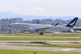 aki241012さんが、福岡空港で撮影したキャセイパシフィック航空 A350-941の航空フォト(飛行機 写真・画像)