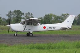 F.YUKIHIDEさんが、岡南飛行場で撮影した岡山航空 172R Skyhawkの航空フォト(飛行機 写真・画像)