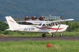 F.YUKIHIDEさんが、岡南飛行場で撮影した岡山航空 172R Skyhawk IIの航空フォト(飛行機 写真・画像)