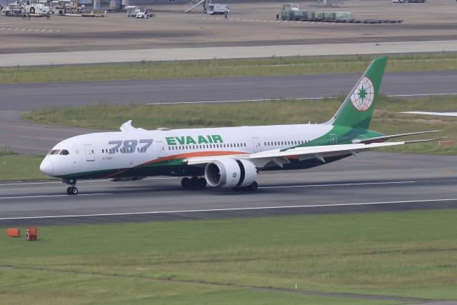 aki241012さんが、福岡空港で撮影したエバー航空 787-9の航空フォト(飛行機 写真・画像)