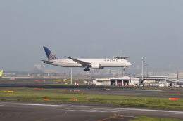 サリーちゃんのパパさんが、羽田空港で撮影したユナイテッド航空 787-9の航空フォト(飛行機 写真・画像)