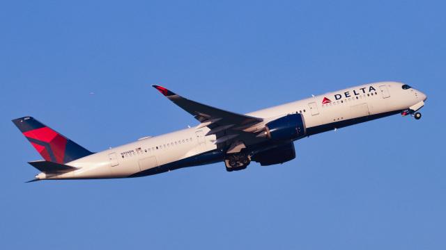 Bluewingさんが、羽田空港で撮影したデルタ航空 A350-941の航空フォト(飛行機 写真・画像)