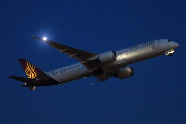 S.Hayashiさんが、羽田空港で撮影したビスタラ 787-9の航空フォト(飛行機 写真・画像)