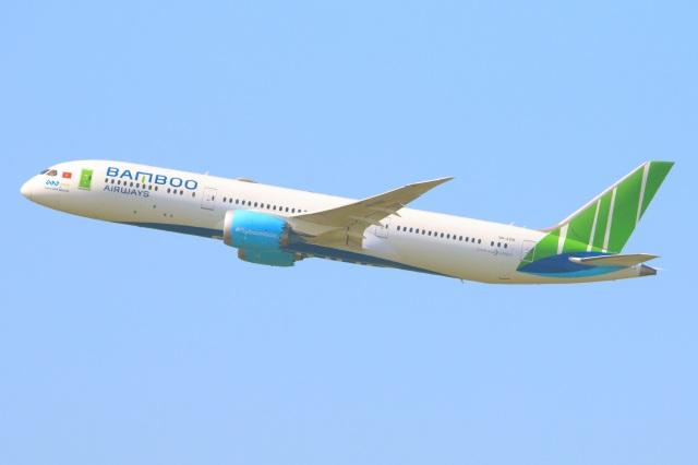 S.Hayashiさんが、成田国際空港で撮影したバンブー・エアウェイズ 787-9の航空フォト(飛行機 写真・画像)