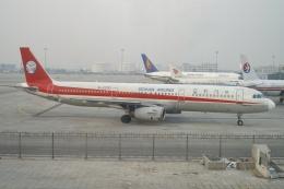磐城さんが、北京首都国際空港で撮影した四川航空 A321-231の航空フォト(飛行機 写真・画像)