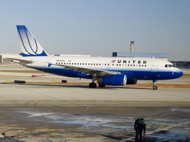 2012年02月18日に撮影されたユナイテッド航空の航空機写真