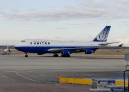 TA27さんが、オヘア国際空港で撮影したユナイテッド航空 747-422の航空フォト(飛行機 写真・画像)