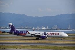 hachiさんが、関西国際空港で撮影した香港エクスプレス A321-231の航空フォト(飛行機 写真・画像)