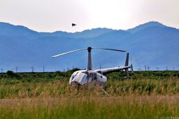 Jin Bergqiさんが、岡南飛行場で撮影した日本法人所有 R66 Turbineの航空フォト(飛行機 写真・画像)