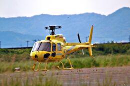 Jin Bergqiさんが、岡南飛行場で撮影した匠航空 AS350B Ecureuilの航空フォト(飛行機 写真・画像)
