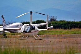 Jin Bergqiさんが、岡南飛行場で撮影した日本法人所有 R44 IIの航空フォト(飛行機 写真・画像)