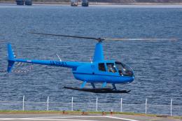 よっしぃさんが、大阪ヘリポートで撮影した日本法人所有 R44 IIの航空フォト(飛行機 写真・画像)