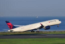 シグナス021さんが、羽田空港で撮影したデルタ航空 A350-941の航空フォト(飛行機 写真・画像)