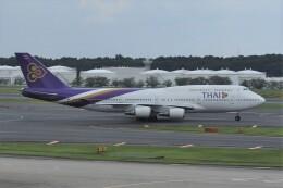 kumagorouさんが、成田国際空港で撮影したタイ国際航空 747-4D7の航空フォト(飛行機 写真・画像)