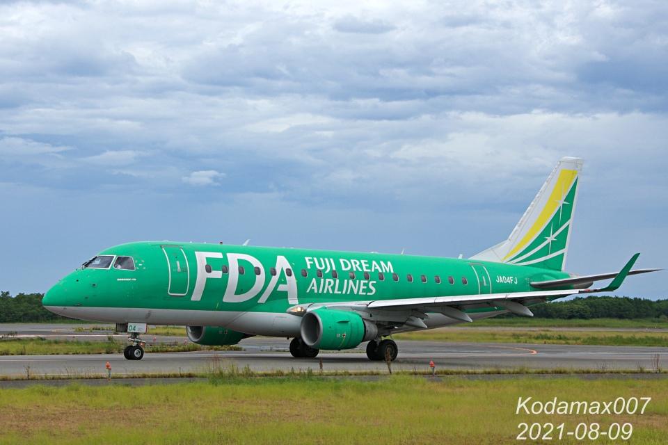 kodamax007さんのフジドリームエアラインズ Embraer 170 (JA04FJ) 航空フォト