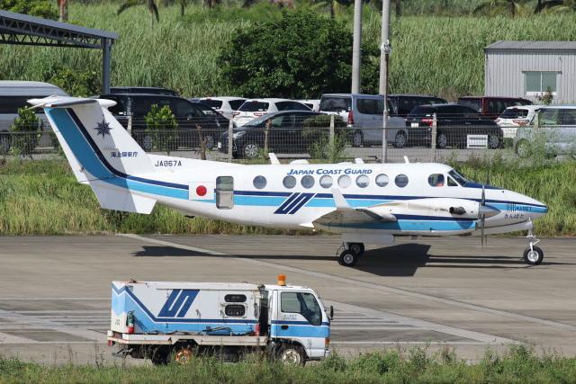安芸あすかさんが、石垣空港で撮影した海上保安庁 B300の航空フォト(飛行機 写真・画像)