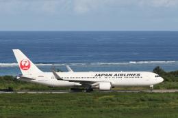 安芸あすかさんが、石垣空港で撮影した日本航空 767-346/ERの航空フォト(飛行機 写真・画像)