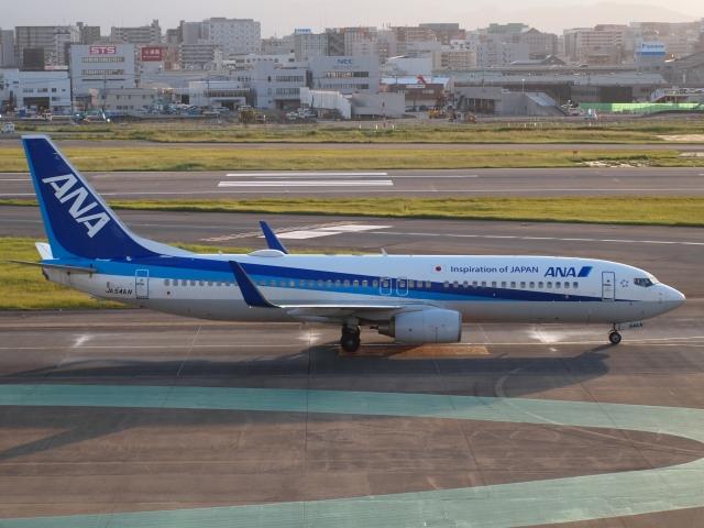 FT51ANさんが、福岡空港で撮影した全日空 737-881の航空フォト(飛行機 写真・画像)