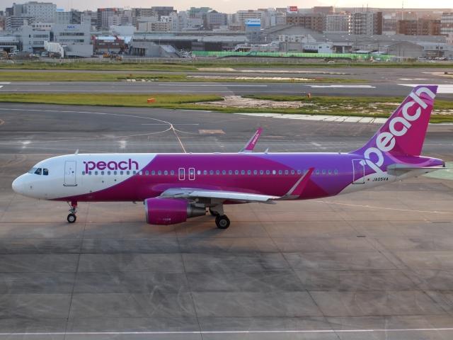 FT51ANさんが、福岡空港で撮影したピーチ A320-214の航空フォト(飛行機 写真・画像)