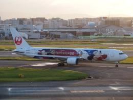 FT51ANさんが、福岡空港で撮影した日本航空 767-346/ERの航空フォト(飛行機 写真・画像)