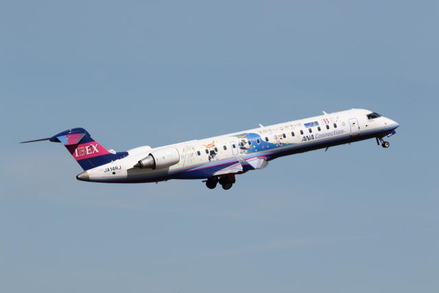 プルシアンブルーさんが、仙台空港で撮影したアイベックスエアラインズ CL-600-2C10(CRJ-702ER)の航空フォト(飛行機 写真・画像)