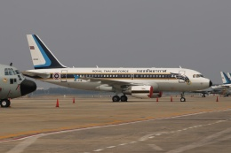 磐城さんが、ドンムアン空港で撮影したタイ王国空軍 A319-115CJの航空フォト(飛行機 写真・画像)