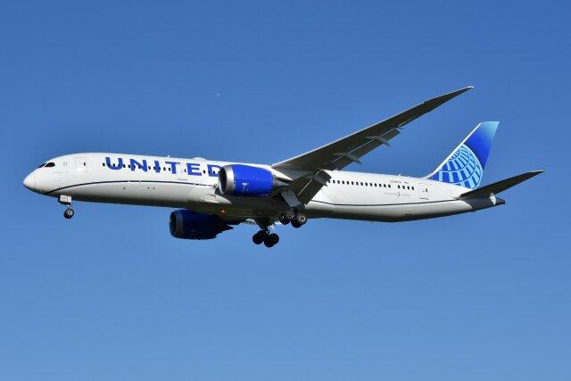 2021年09月19日に撮影されたユナイテッド航空の航空機写真