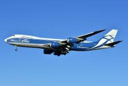 islandsさんが、成田国際空港で撮影したエアブリッジ・カーゴ・エアラインズ 747-8HVFの航空フォト(飛行機 写真・画像)