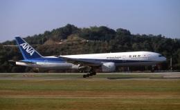 LEVEL789さんが、岡山空港で撮影した全日空 777-281の航空フォト(飛行機 写真・画像)