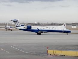 TA27さんが、オヘア国際空港で撮影したメサ・エアラインズ CL-600-2C10(CRJ-701ER)の航空フォト(飛行機 写真・画像)