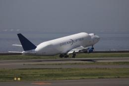 m_aereo_iさんが、中部国際空港で撮影したボーイング 747-4J6(LCF) Dreamlifterの航空フォト(飛行機 写真・画像)