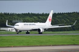 rangeroverさんが、成田国際空港で撮影した日本航空 767-346/ERの航空フォト(飛行機 写真・画像)
