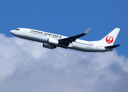 航空フォト:JA302J 日本航空 737-800