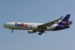 banshee02さんが、成田国際空港で撮影したフェデックス・エクスプレス MD-11Fの航空フォト(飛行機 写真・画像)