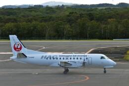 にしやんさんが、釧路空港で撮影した北海道エアシステム 340B/Plusの航空フォト(飛行機 写真・画像)