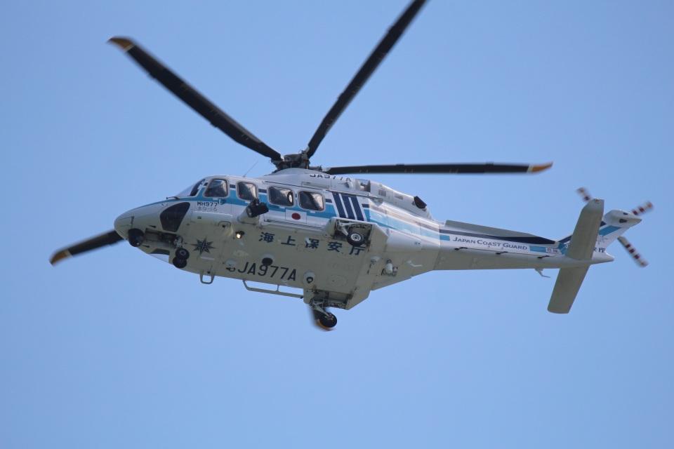 KU-BAさんの海上保安庁 AgustaWestland AW139 (JA977A) 航空フォト