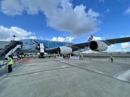 若鷹軍団さんが、那覇空港で撮影した全日空 A380-841の航空フォト(飛行機 写真・画像)
