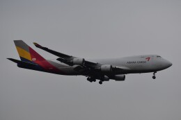 PIRORINGさんが、成田国際空港で撮影したアシアナ航空 747-48EF/SCDの航空フォト(飛行機 写真・画像)