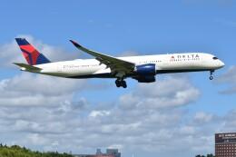 PIRORINGさんが、成田国際空港で撮影したデルタ航空 A350-941の航空フォト(飛行機 写真・画像)